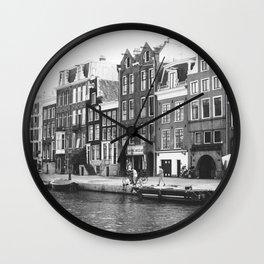 Love, Amsterdam Wall Clock