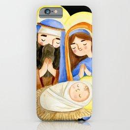 baby jesus Marry Christmas  iPhone Case