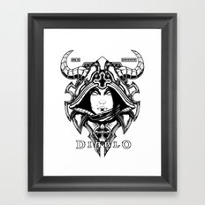 Diablo III. Demon Hunter Framed Art Print