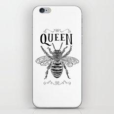 Queen Bee Poster iPhone & iPod Skin