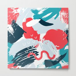 artistic pattern (1) Metal Print