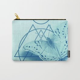 Butterfly in an abstract landscape Carry-All Pouch