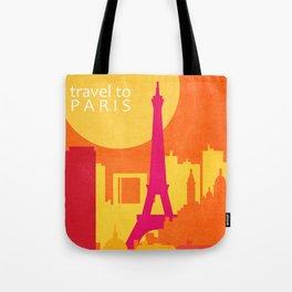 travel to Paris Tote Bag
