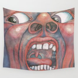 In the Court of the Crimson King Expanded Edition by King Crimson Wall Tapestry