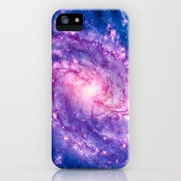 Cosmic vacuum cleaner (Spiral Galaxy M83) iPhone Case