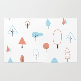 SAVE THE TREES Rug