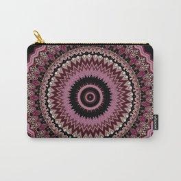Bohemian Decorative Mauve Dusk Mandala Design Carry-All Pouch