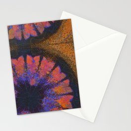 Calctufas Bubble Flower  ID:16165-082212-00360 Stationery Cards