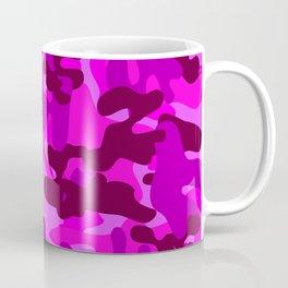 Camouflage (Fuchsia) Coffee Mug