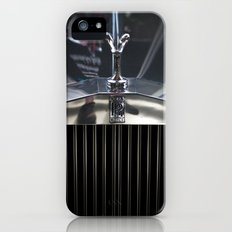 Silver lady. iPhone (5, 5s) Slim Case
