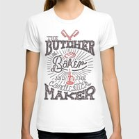 butcher billy T-shirts featuring The Butcher by Pilgrim
