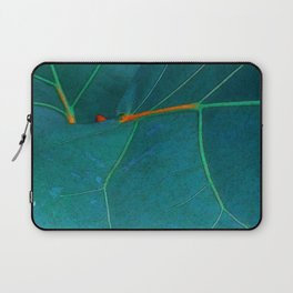Two Sea Grape Leaves Laptop Sleeve