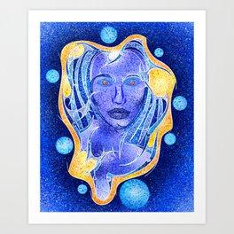 Angeonilium V4 - frozen beauty Art Print