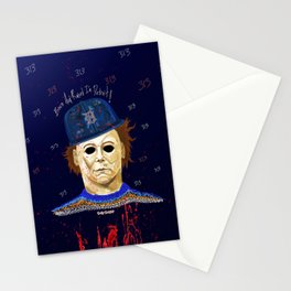 Detroit After Midnight Equals Halloween Stationery Cards