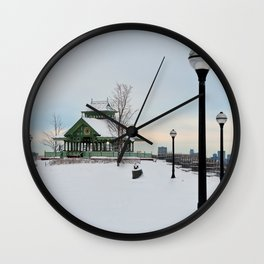 The Kiosk Wall Clock