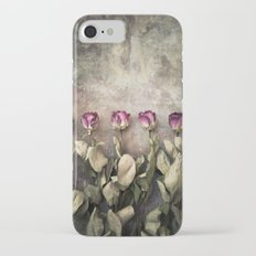 Five dried roses iPhone 7 Slim Case
