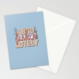 Abso Funkin' Lutely Stationery Cards