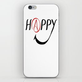 Happy Atheists iPhone Skin
