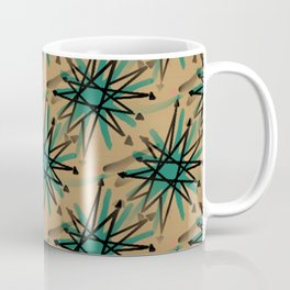 Retro Atomic Starbursts Coffee Mug