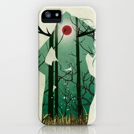 Nature Goddess iPhone Case