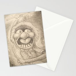 Animal in Pencil Stationery Cards