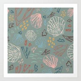 Deep-sea Treasures Art Print