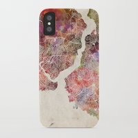 istanbul iPhone & iPod Cases featuring Istanbul by MapMapMaps.Watercolors