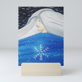 Snow Lady Mini Art Print