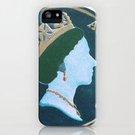 Queen Elizabeth -Australia 10¢ - The Queens Mint Series iPhone Case