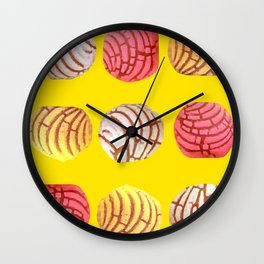 Pan Dulce Trio Wall Clock