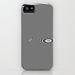Fractal Op Art 5 iPhone Case