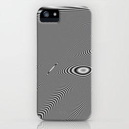 Fractal Op Art 5 iPhone Case