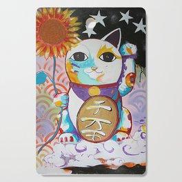 LUCKY CAT Cutting Board
