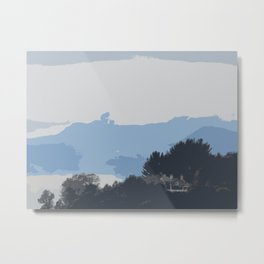 A house in the mountains Metal Print