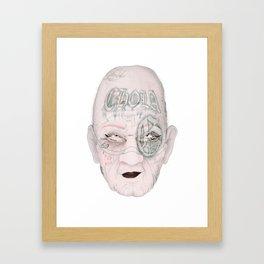 Chorbita loca Framed Art Print