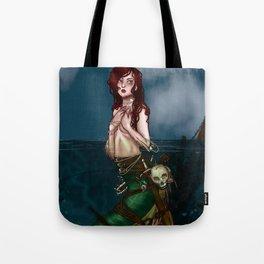 Little Sea Monster Tote Bag