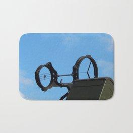 Military cars, equipment, retro items and elements Bath Mat