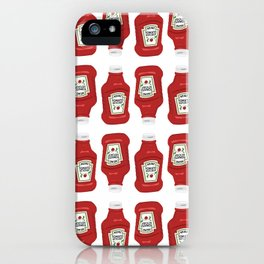 Ketchup Pop Art iPhone Case