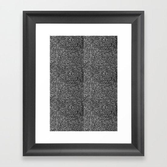 Hectic Framed Art Print