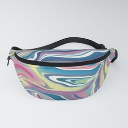 Abstract Bubblegum Fanny Pack