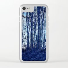 Denim Designs Winter Woods Clear iPhone Case