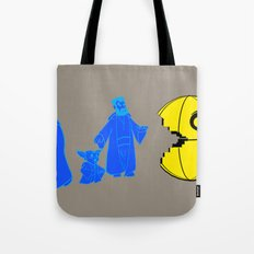 Thats no moon its a... oh hell run!! Tote Bag