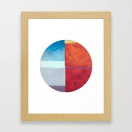 Skyline Occulus  Framed Art Print