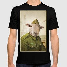 Private Leonard Lamb visits Paris T-shirt