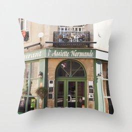 Eat Well Travel Often - travel photography Throw Pillow