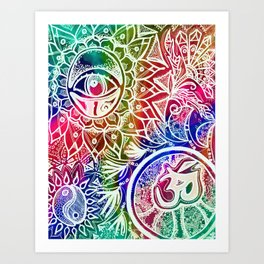 Serenity Redefined Art Print