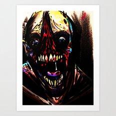 Sheer Terror Art Print