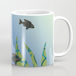 Designer Aquarium Fish Story Coffee Mug