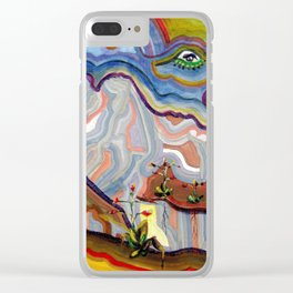 Earth Changes 1985 Clear iPhone Case