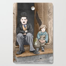 The Kid (1921) - Colorized Cutting Board